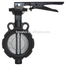 Válvula de mariposa de la serie BG260A Tipo de oblea sin respaldo