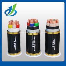 Cable de alimentación eléctrico de XLPE con blindaje de cinta XLPE de acero de 10KV 3 * 150 mm