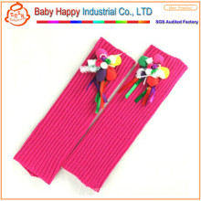 wholesale soft knitted toddler leg warmers