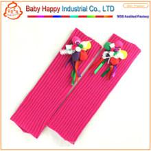 Оптовые мягкие трикотажные подогреватели ног для малышей