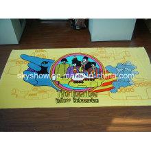 Полноцветное пляжное полотенце с печатью (SST0333)