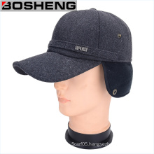 Men′s Winter Baseball Ear Barrier Flap Cap