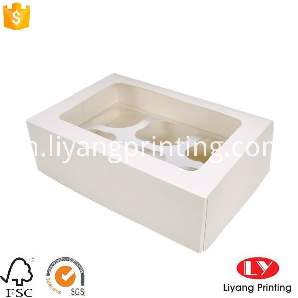 cupcake box with window