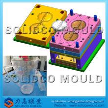 Kunststoff Farbe Barrel Schimmel, Kunststoff-Spritzguss-Fabrik, Kunststoff-Krug Formen