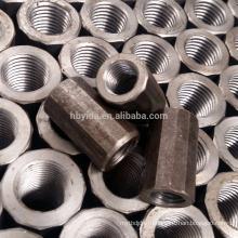 Строительный материал высокого качества Польностью продетых нитку муфту арматуры для стальной арматуры