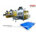 HDPE-PP-PE-Plástico-Pallet-Hot-Plate Máquina de solda