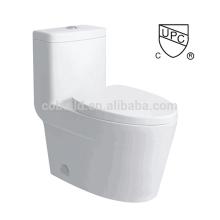 CB-9521 CUPC banheiro projetado chão montado único flush one piece upc toilet