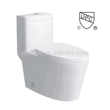 CB-9521 CUPC Bad Design Bodenmontage Einzel-Spülung ein Stück WC upc
