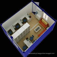 Casa pré-fabricada do escritório do recipiente C001