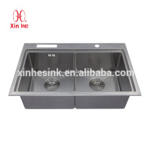 Handmade Stainless Steel SUS 304 kitchen Sink, wash basin