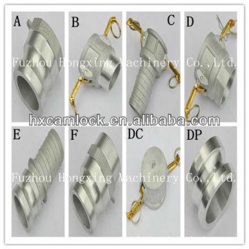 Алюминиевый быстрое соединение с BSP или NPT резьбой