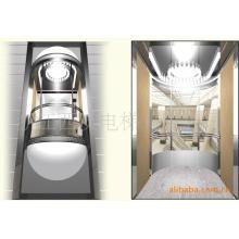 Ascensor panorámico Fujizy con máquina sin sala