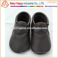 genuine leather moccasin baby frozen shoes
