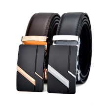 Luxury  Fashion Automatic Buckle  Genuine Leather Alloy  men Belts 2021 new Adjustable Casual Business belt for men gift