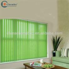 Tela verde impermeable para hacer persianas verticales