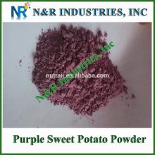 Natural Chinese Purple Sweet Potato Powder 80mesh 200mesh