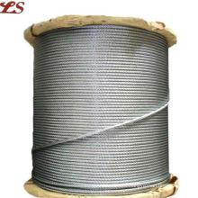 7x19 galvanized steel wire rope