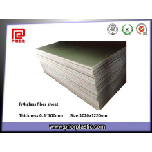 Fr-4 Feuille de fibre de verre époxy avec antistatique