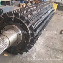 ISO Double Toothed Roller Crusher