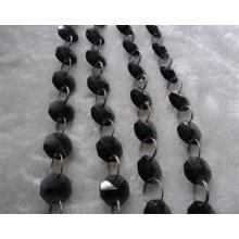 Großhandel schwarze Octagon Perlen in der Masse