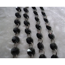 wholesale Black Octagon Beads in bulk