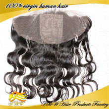 2015 New Fashion High Quality Qingdao Factory Directly 13x4 Silk Base Frontal With Baby Hair