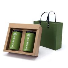 Boîte d'emballage de cadeau de sachet à thé en papier kraft personnalisé