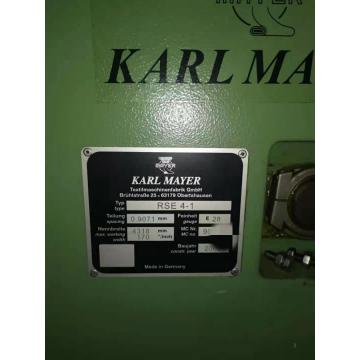 Máquina de tejer por urdimbre Karl Mayer