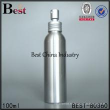 botella de spray de aluminio niebla fina 100ml