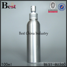 fine mist aluminum 100ml spray bottle
