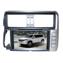 2DIN Car DVD Player Fit for Toyota Prado 2011-2013 with Radio Bluetooth TV Stereo GPS Navigation System