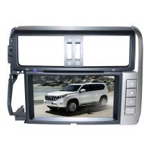 2DIN автомобильный DVD-плеер, пригодный для Toyota Prado 2011-2013 с радио Bluetooth стерео TV GPS навигационной системы