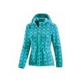 Ladies' Printed Fleece Coat With Zipper