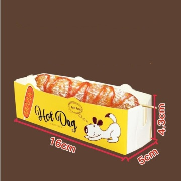 Cheese hot dog box Packing