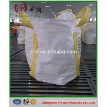 Duffle Top Flat Bottom 4 Loop 100% New Polypropylene 1 Ton Jumbo Bags 1m3 para Chimcal Powder Package