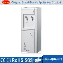 Dispensador vertical doméstico de agua fría y caliente