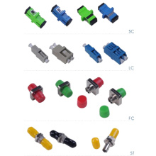 China for China SC Adapter, Fiber SC Adapter, Mini SC Adapter Exporter Simplex Duplex Fiber Optic Adapter export to Spain Manufacturer