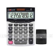 12 Digits Dual Power Office Calculator with Metal Panel (LC22635)