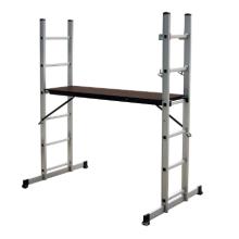 l'échafaudage utilisé en aluminium, escalier d'échafaudage, échelle en aluminium de plate-forme