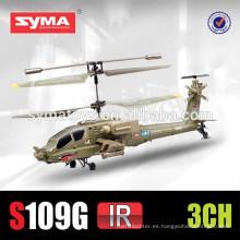 SYMA S109G Simulación RC Helicóptero