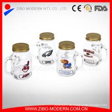 Aufkleber Design Massen Saft Glas Mason Jar Großhandel Mason Gläser