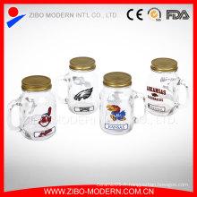 Decal Design Bulk Juice Glass Mason Jar Vente en gros Mason Jars