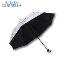 2017 Promotional Gifts Customized Logo Nice Newspaper Print Cheap Sun Umbrella Design