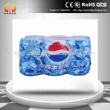 50micronfarbener PE-Schrumpffolie für Flaschenpackung