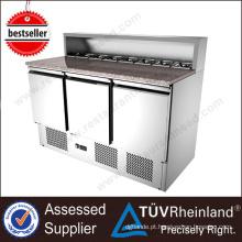 Equipamento de cozinha SS304 Sandwich salad bar refrigerador venda