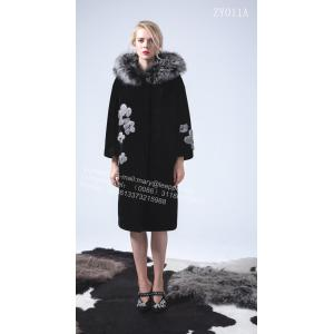 Kvinnor Reversible Hooded Kopenhagen MInk Coat