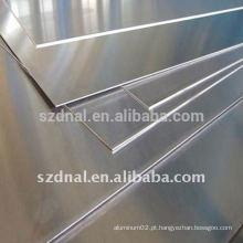 Placa de alumínio 1060 H14 / H24