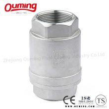2PC Threaded End Vertical Check Valve
