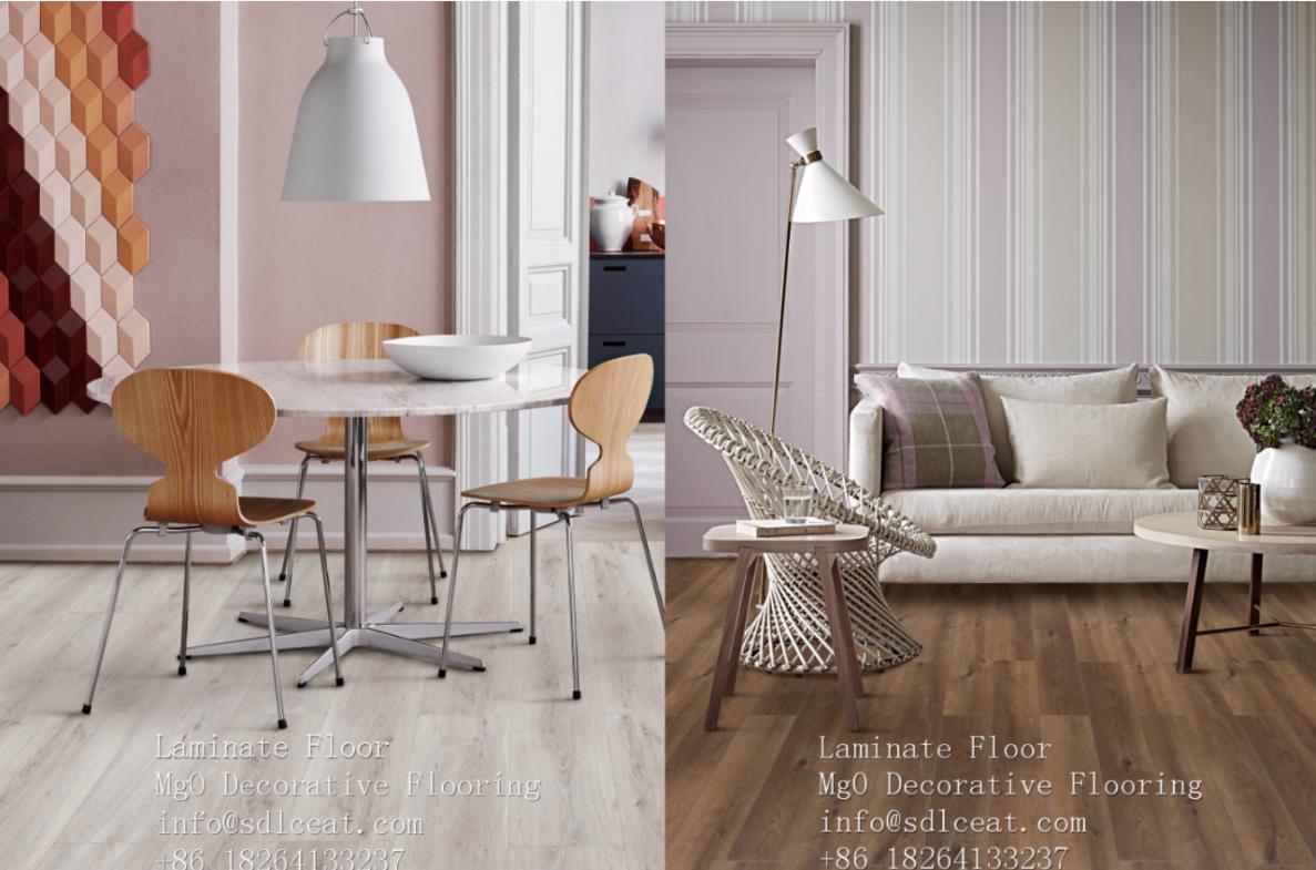 MgO laminate floor 7mm 8mm 10mm 12mm Laminate Flooring Piso Laminado