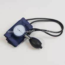 first aid Multi function Palm Type blood pressure monitor with ABS plastic case